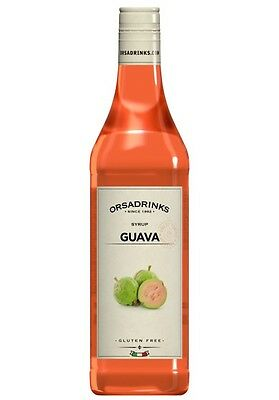 Syrup Ankle Guava Odk Orsa Drink Syrup for Cocktail Barman