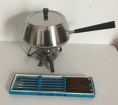 Spring Stainless Steel Fondue Set Made in Switzerland Chinoise