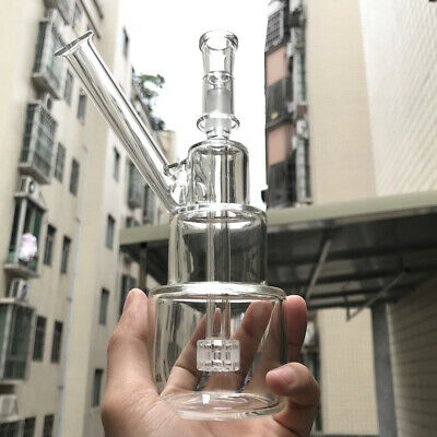 7'' Glass bong Hookah Shisha Glassware Tobacco water pipe Bubbler