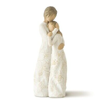 Willow Tree hand-painted sculpted figure, Close to me (26222) 9.7 x 4.4