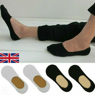 Mens Womens 3 or 6 Pairs Invisible Socks Footsies no show Shoe Liners Ballerina