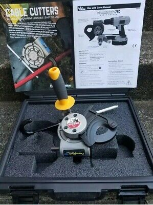 IDEAL 35-078 POWER BLADE 750 CABLE CUTTER(NEW) Drill Powered