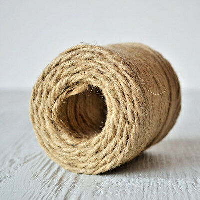 5 Ply Thick Luxury Jute Twine - BUY 2 GET 2 FREE!! - Natural Garden Craft String