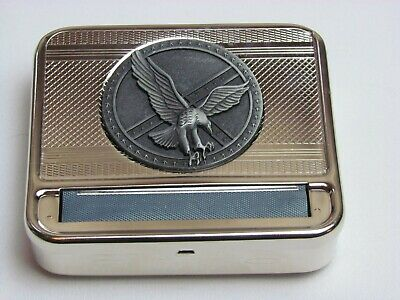 Metal Tobacco Cigarette Rolling Machine Automatic 70mm Box With free shipping