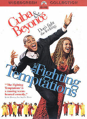 The Fighting Temptations Full Screen DVD Beyonce Cuba Gooding Jr 2004 Used