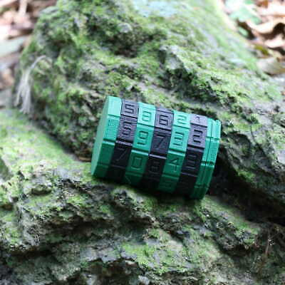 *NEW* Customizable CRYPTEX Geocache Cache Container Programmable Code + 3 Logs!
