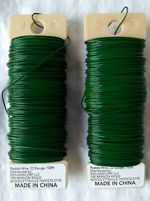 Paddle Wire 22 Gauge 100 Ft. Lot Of 2 001