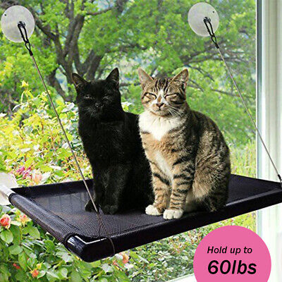 Pet Cat Window Mounted Durable Seat Hammock Perch Bed Hold Up To 60lbs