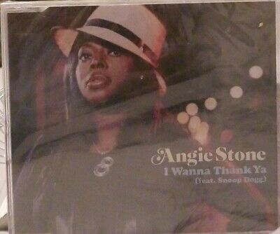 ANGIE STONE & SNOOP DOGG I wanna thank ya EDITS & REMIX & VIDEO CD single SEALED
