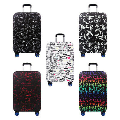 Anti-scratch Suitcase Cover Elastic Protector Thick Material for 18-32 Inch