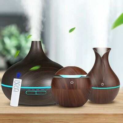 3pcs/1Set Aroma Air Humidifier 7 LED lights Essential Oil Diffuser Aromatherapy