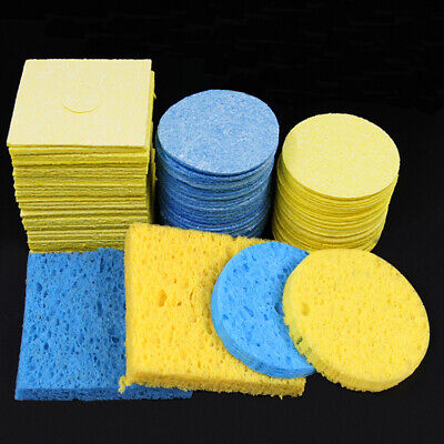 Cleaning Sponge for Soldering Iron High Temperature Resistant Thick Enduring