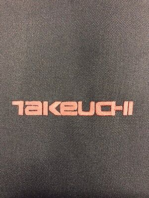 Embroidered Heavy Duty Seat Cover fits Takeuchi Mini Excavator Waterproof