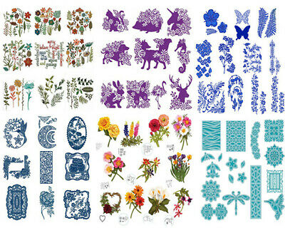 Lace Frame Flower Metal Cutting Dies Stencil For DIY Scrapbook Embossing Crafts