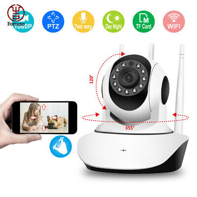 HD 1080P Wireless IP Camera Home WiFi CCTV Security System Network Night Vision