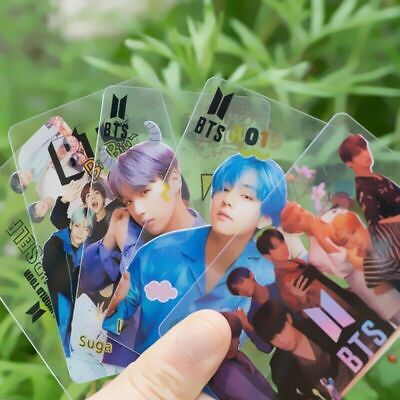 10PC Kpop BTS Members Clear Cards MAP_OF_THE_SOUL_PERSONA Photo Cards  Usable