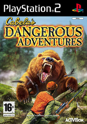 Cabela's Dangerous Adventures PS2 Playstation 2 IT IMPORT ACTIVISION BLIZZARD