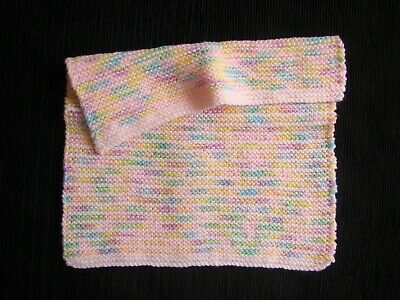 Baby clothes GIRL premature/tiny/doll NEW! small blanket, pink rainbow SEE SHOP!