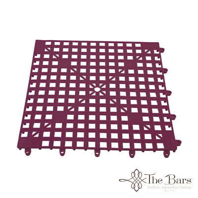Bar Mat Coasters for bar Interlocking Fuchsia Colour