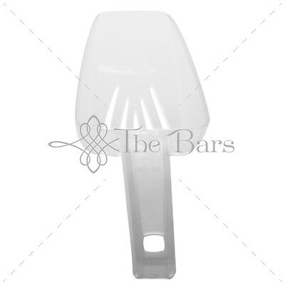 Scoop for Ice Ice Scoop 10 oz Draining Clear B014B