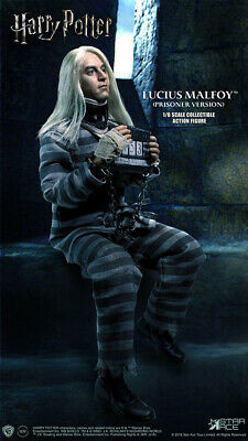 Harry Potter 12' Lucius Malfoy Prisoner Version 1/6 Scale Action Figure STAR ACE