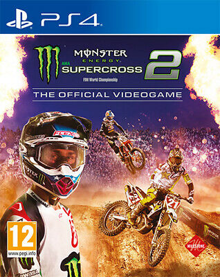 Monster Energy Supercross 2 The Official Videogame PS4 Playstation 4 IT IMPORT