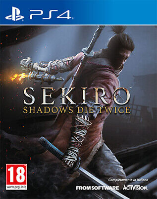 Sekiro Shadows Die Twice PS4 Playstation 4 IT IMPORT ACTIVISION BLIZZARD