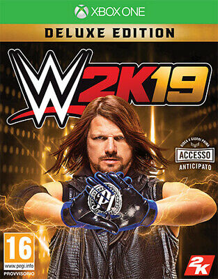 WWE 2K19 Deluxe Edition (Wrestling 2019) XBOX ONE IT IMPORT TAKE TWO INTERACTIVE