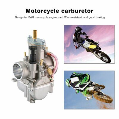Universal Motorcycle Carburetor 30mm For Keihin Carb PWK Mikuni With Power JetSG
