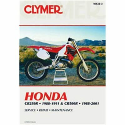 Clymer Dirt Bike Manual - Honda CR250R & CR500R - HON CR 250R 1992 - 1997;