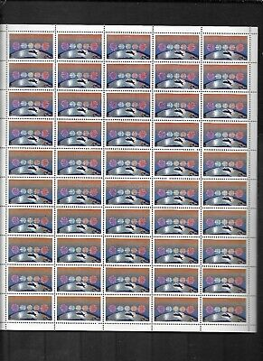 pk43918:Stamps-Canada #1103 CBC Broadcasting (NI) 50 x 34 cent Sheet - MNH