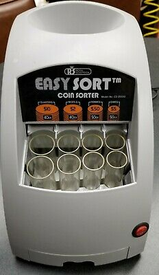Royal Sovereign EASY SORT Electric Coin Sorter CO-2000