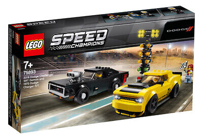 LEGO Speed Champions Dodge Challenger S Demon & Charger R/T 75893 LEGO
