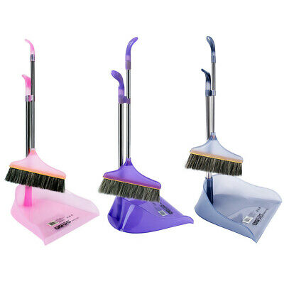 Housekeeping Cleaning Tool Comfortable Grip Duster And Broom Set Assistant US ST