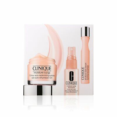Clinique Moisture Surge 72H Auto-replenishing Hydrator &All About Eyes Serum Set