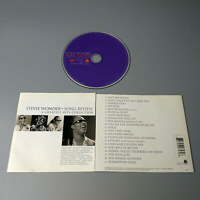 Stevie Wonder - Song Review (A Greatest Hits Collection) 1996 EU CD VG #1093*