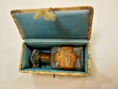 C.1900 Antique Lightner Perfume Co. Detroit 'Lilybells' Bottle in Original Box