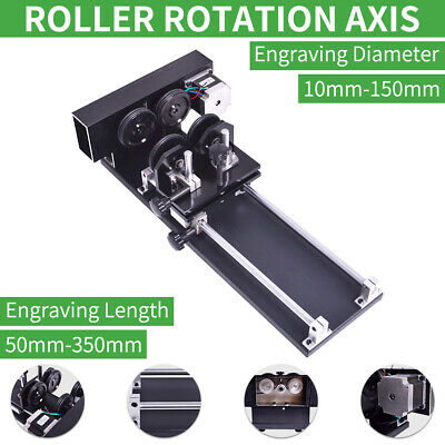 Rotary CNC Attachment Roller Axis Laser Engraver Machine Rotation Axis 24V