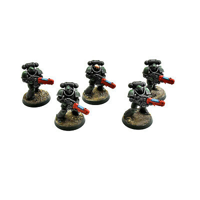 DARK ANGELS 5 primaris hellblaster #1 WELL PAINTED Warhammer 40K helblasters