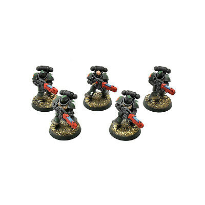 DARK ANGELS 5 primaris hellblaster #2 WELL PAINTED Warhammer 40K helblasters