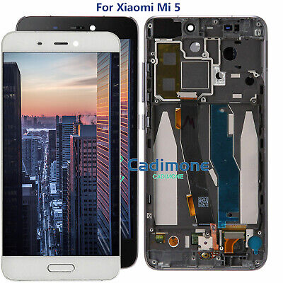 For Xiaomi Mi 5 Mi5 LCD Display Touch Screen Digitizer Assembly Replace Frame ME