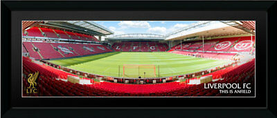 Liverpool F.C Stadium Picture Frame Anfield 30x12 Inch - Official Gift