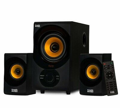 Acoustic Audio by Goldwood AA2170 Bluetooth 2.1 Speaker System with Remote