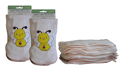 Kashmir Baby Hemp/Organic Cotton Cloth Diaper plus Potty Training Inserts
