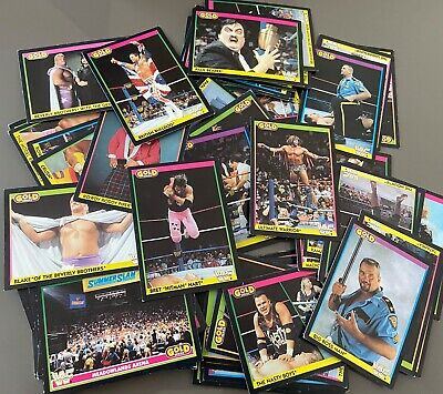 WWF Black Series 1992 Trading Cards (WCW WWE) - PICK YOUR CARD