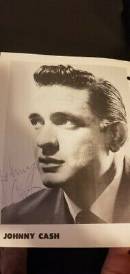 Johnny Cash Signed Vintage Program also with Bob Luman Gordon Terry1961AUTHENTIC