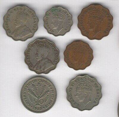 Mix Of Cyprus Coins | European Coins | Pennies2Pounds