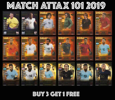 Match Attax 101 2019 100 Club Limited Edition Legends