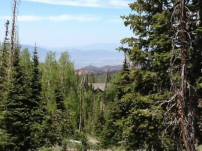 Brian Head Utah Ski Mountain Lot Trees Views Natural Setting Buildable