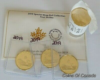 2019 Canada $1 Loon Loonie FIRST STRIKE Sealed In Acid Free Pkg. #coinsofcanada